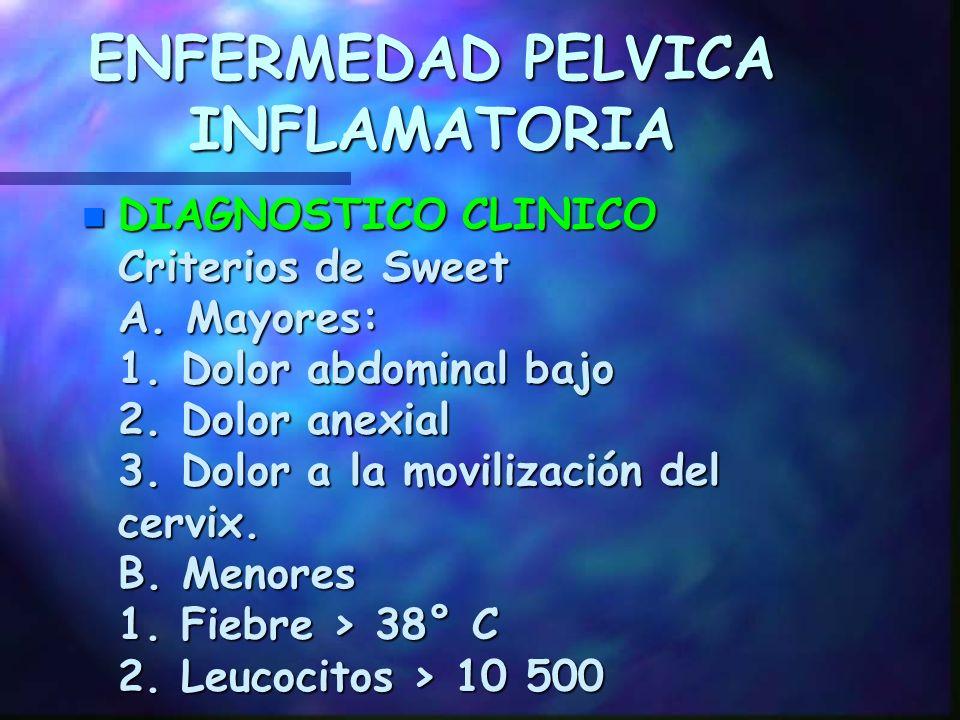ENFERMEDAD PELVICA INFLAMATORIA