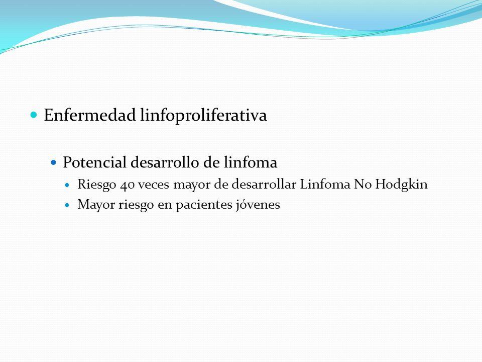 Enfermedad linfoproliferativa