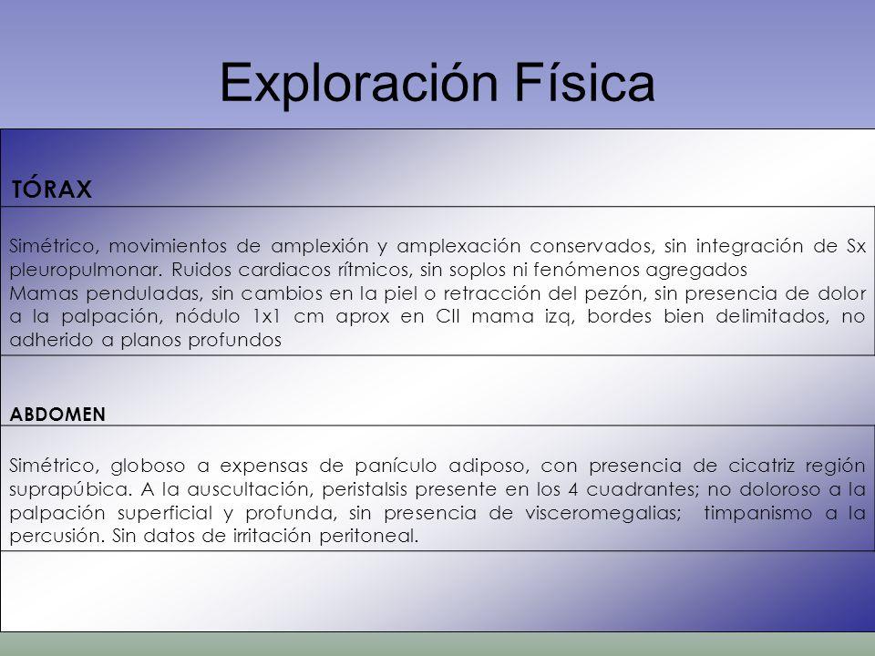 Exploración Física TÓRAX