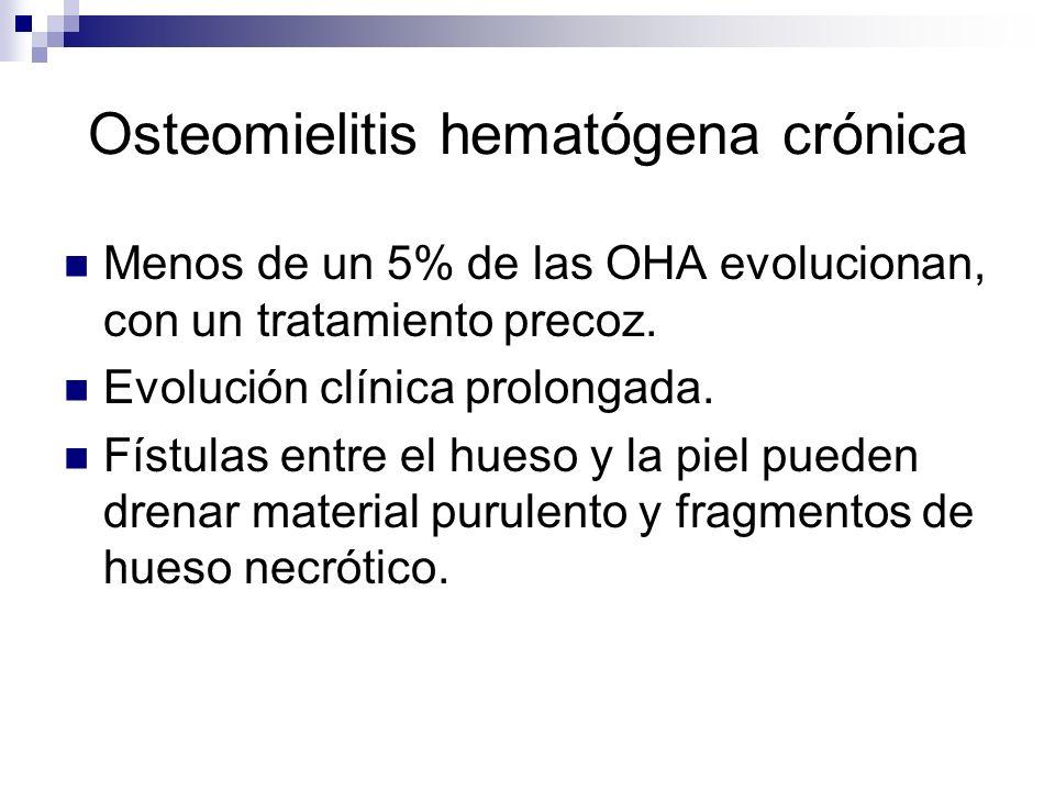 Osteomielitis hematógena crónica