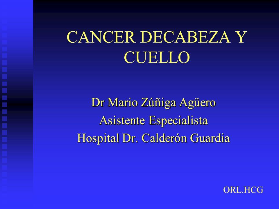 CANCER DECABEZA Y CUELLO