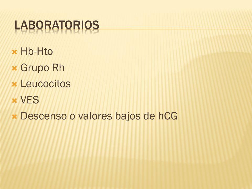 Laboratorios Hb-Hto Grupo Rh Leucocitos VES