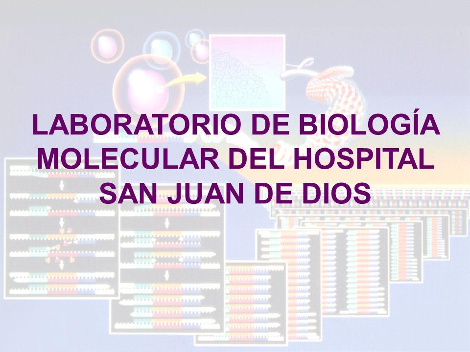 LABORATORIO DE BIOLOGÍA MOLECULAR DEL HOSPITAL SAN JUAN DE DIOS