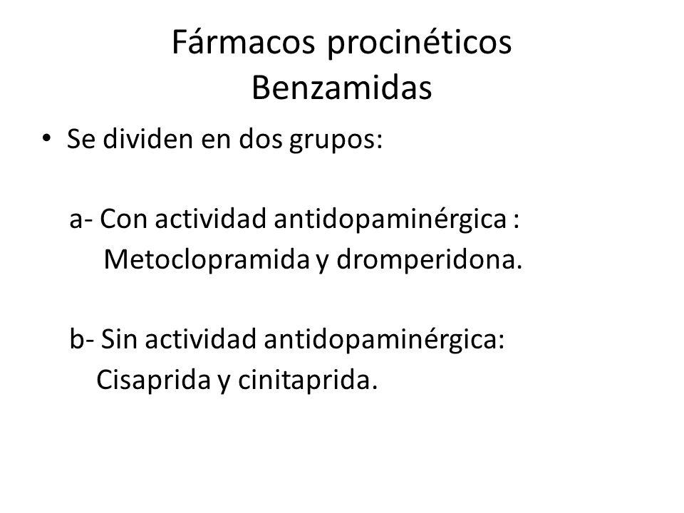 Fármacos procinéticos Benzamidas