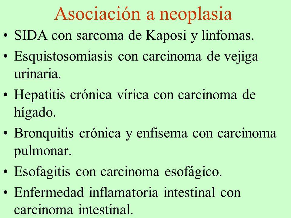Asociación a neoplasia