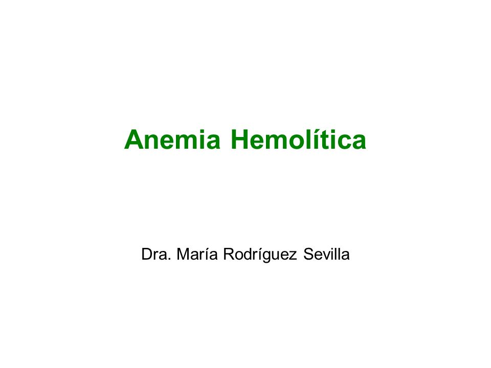 Dra. María Rodríguez Sevilla