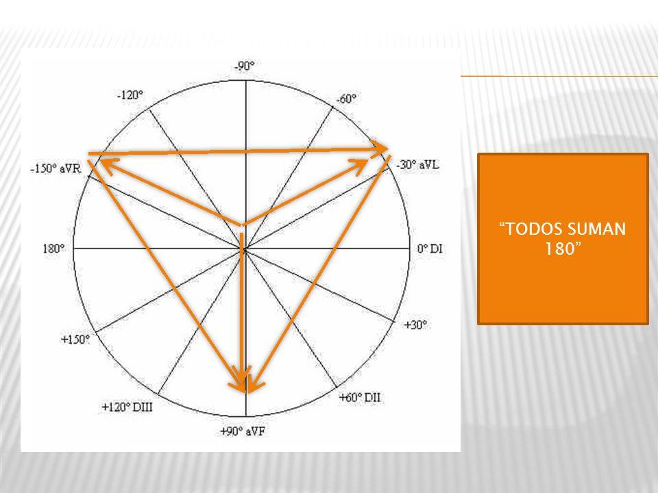 TODOS SUMAN 180