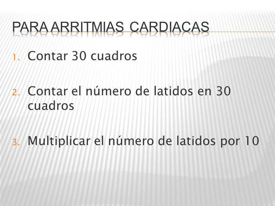 Para arritmias cardiacas