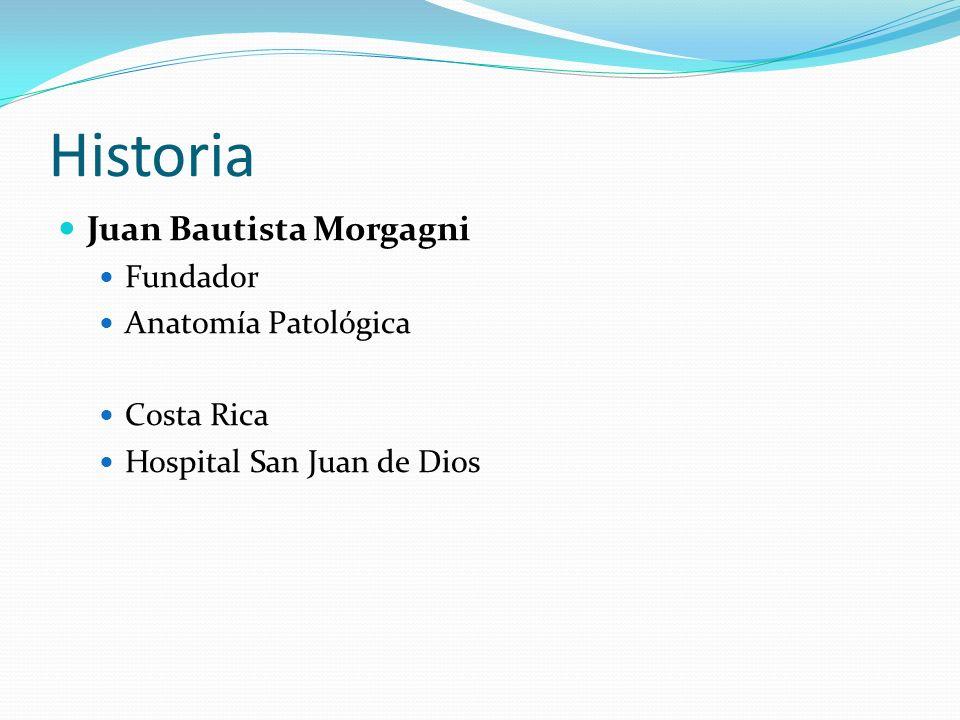 Historia Juan Bautista Morgagni Fundador Anatomía Patológica