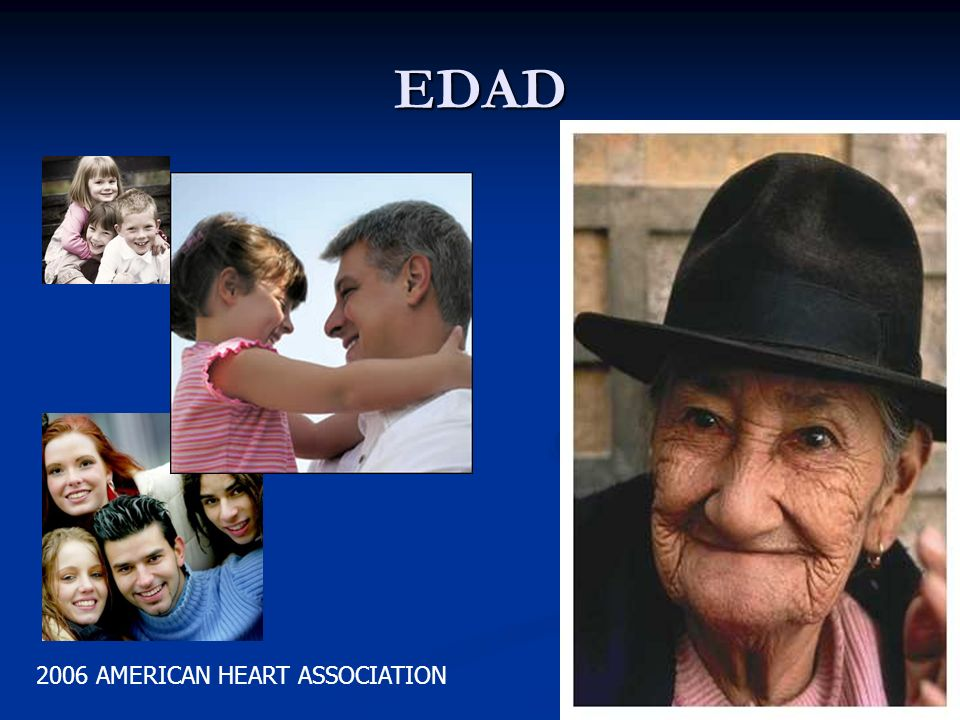 EDAD 2006 AMERICAN HEART ASSOCIATION