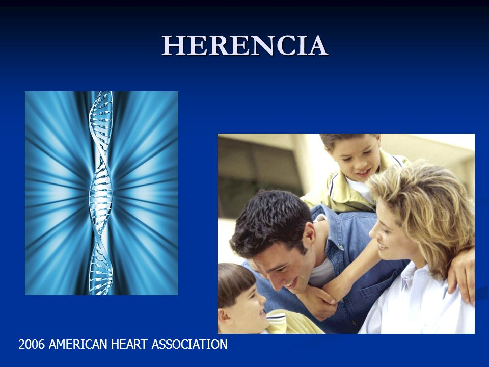 HERENCIA 2006 AMERICAN HEART ASSOCIATION