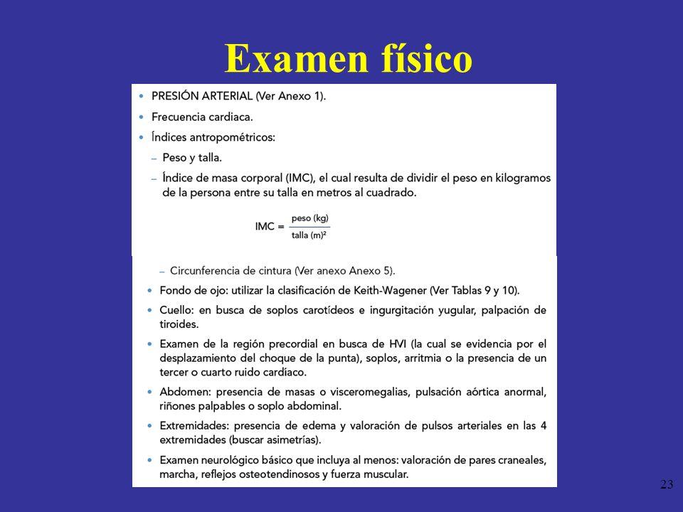 Examen físico 23
