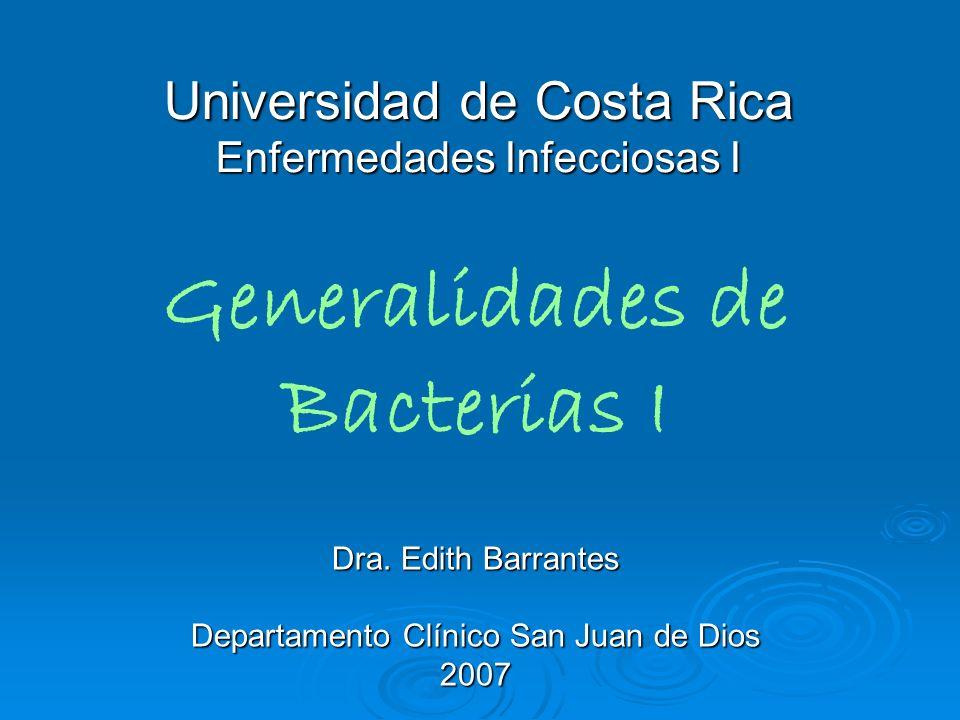 Universidad de Costa Rica Enfermedades Infecciosas I