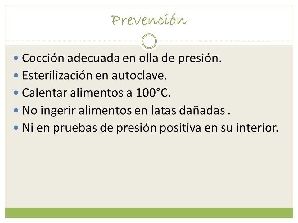Prevención Cocción adecuada en olla de presión.