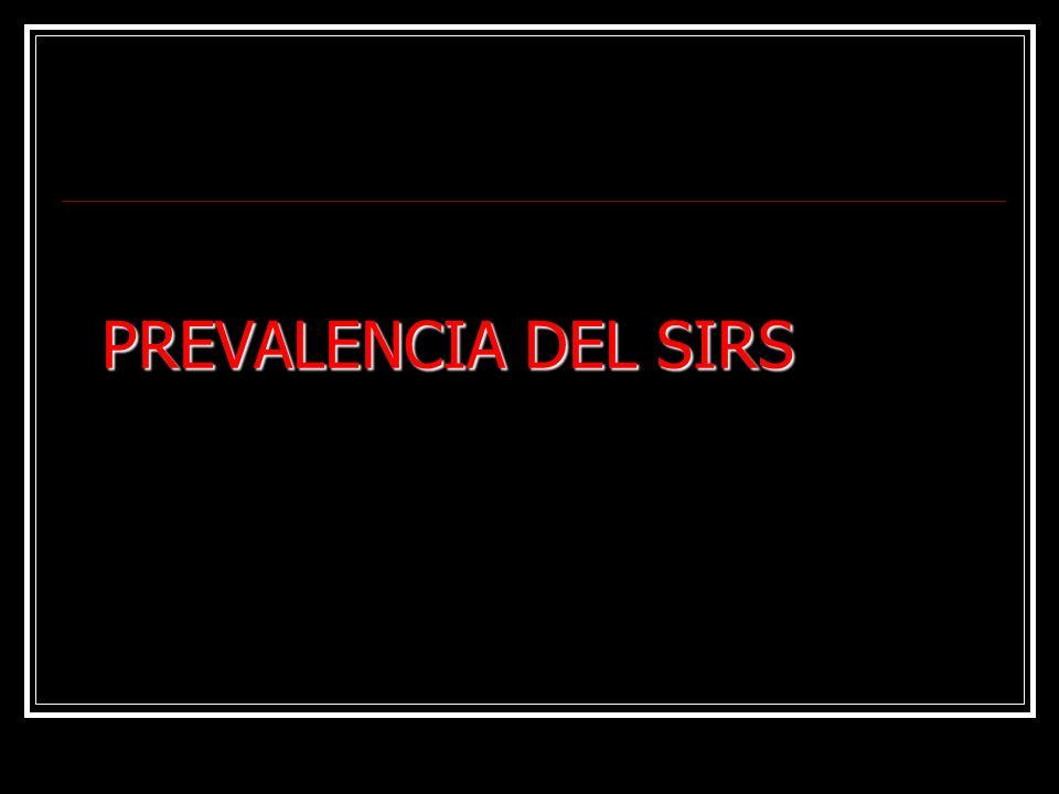 PREVALENCIA DEL SIRS