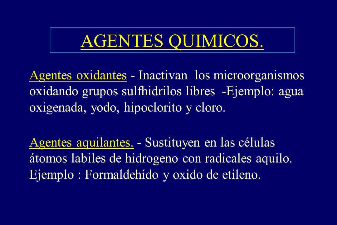 AGENTES QUIMICOS.
