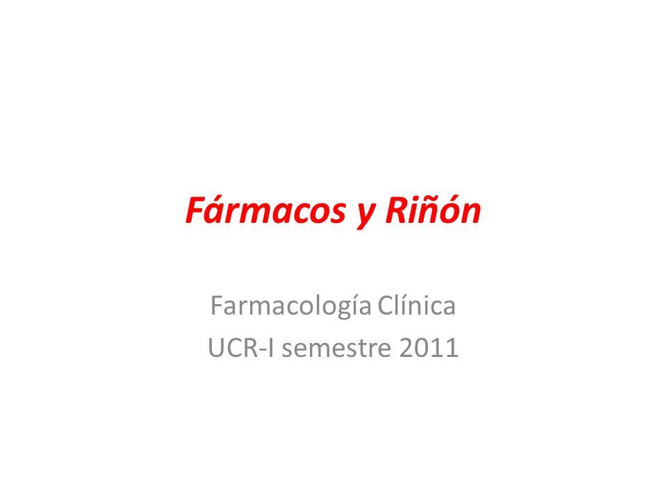 Farmacología Clínica UCR-I semestre 2011