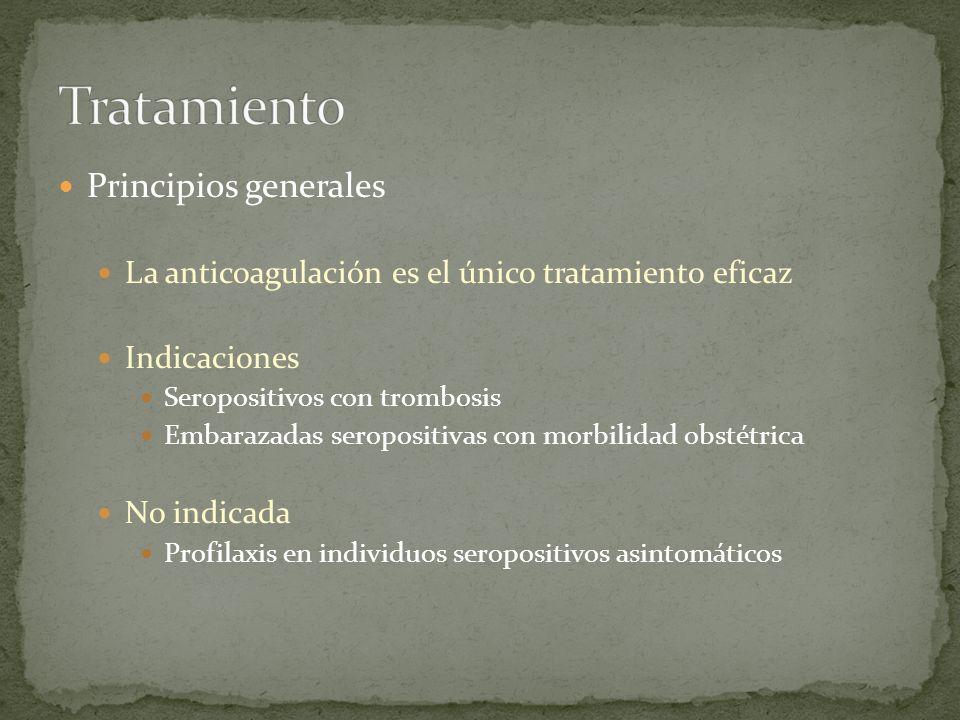 Tratamiento Principios generales