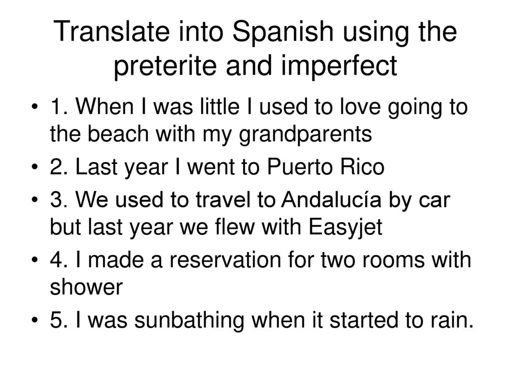 spanish essay using preterite and imperfect Write a paragraph or essay in spanish detailing for perfecting the imperfect and preterite uploads/2016/01/25-more-spanish-writing-prompts-for.