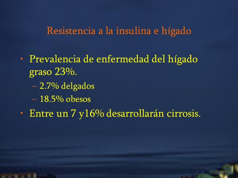 Resistencia a la insulina e hígado