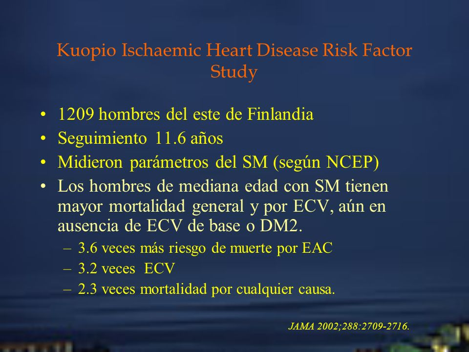 Kuopio Ischaemic Heart Disease Risk Factor Study