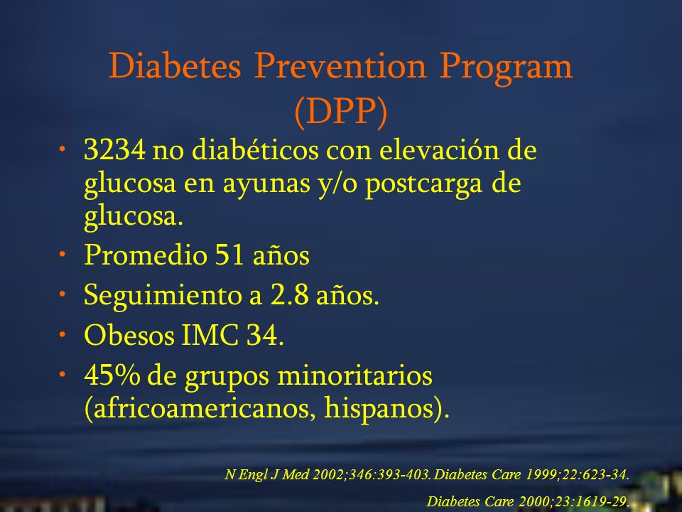 Diabetes Prevention Program (DPP)