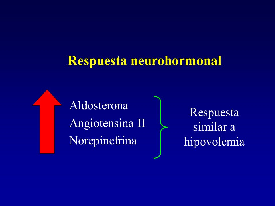 Respuesta neurohormonal
