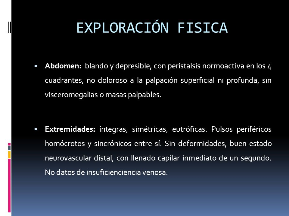 EXPLORACIÓN FISICA