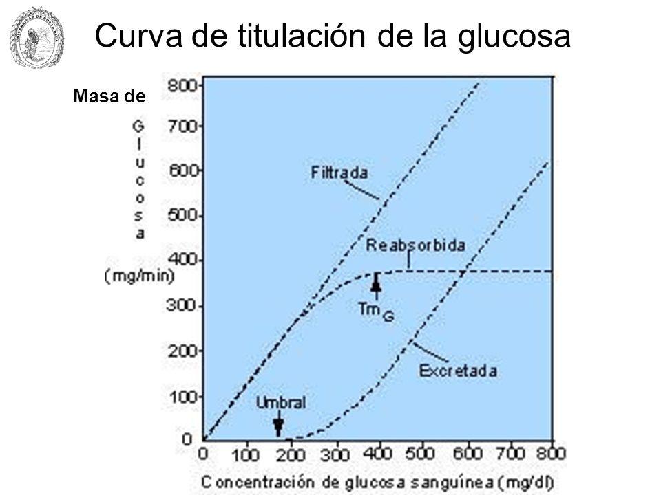 Curva de titulación de la glucosa