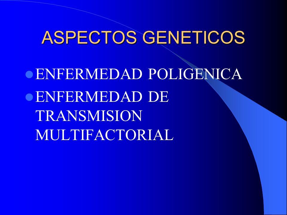 ASPECTOS GENETICOS ENFERMEDAD POLIGENICA