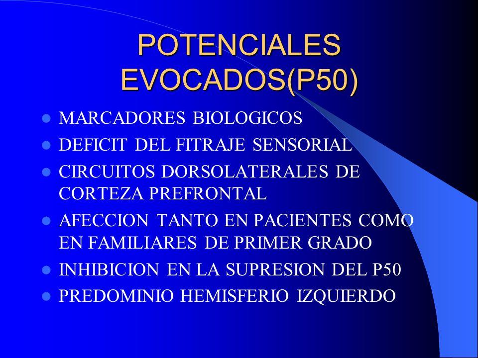 POTENCIALES EVOCADOS(P50)