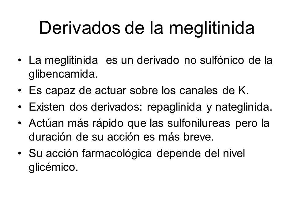 Derivados de la meglitinida