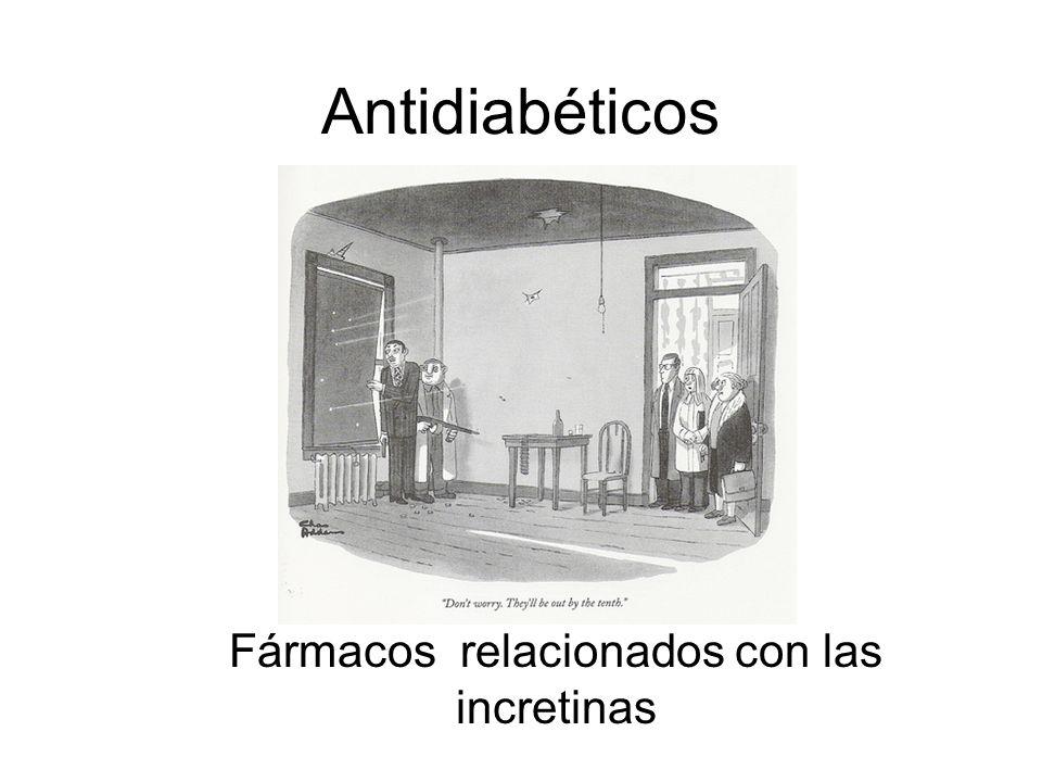 Fármacos relacionados con las incretinas