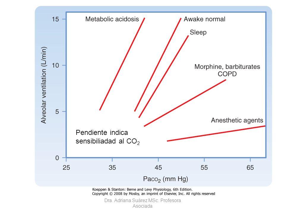 Curva de respuesta CO2-ventilación durante el sueño