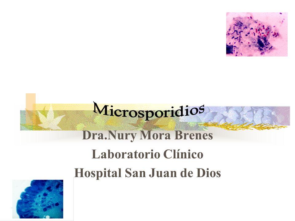 Dra.Nury Mora Brenes Laboratorio Clínico Hospital San Juan de Dios