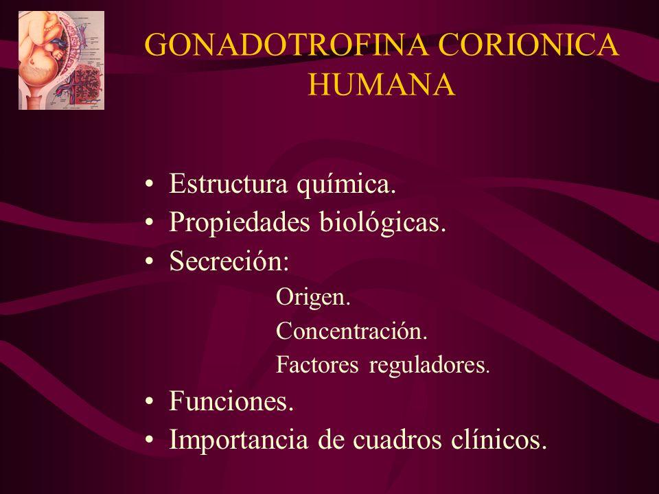 GONADOTROFINA CORIONICA HUMANA