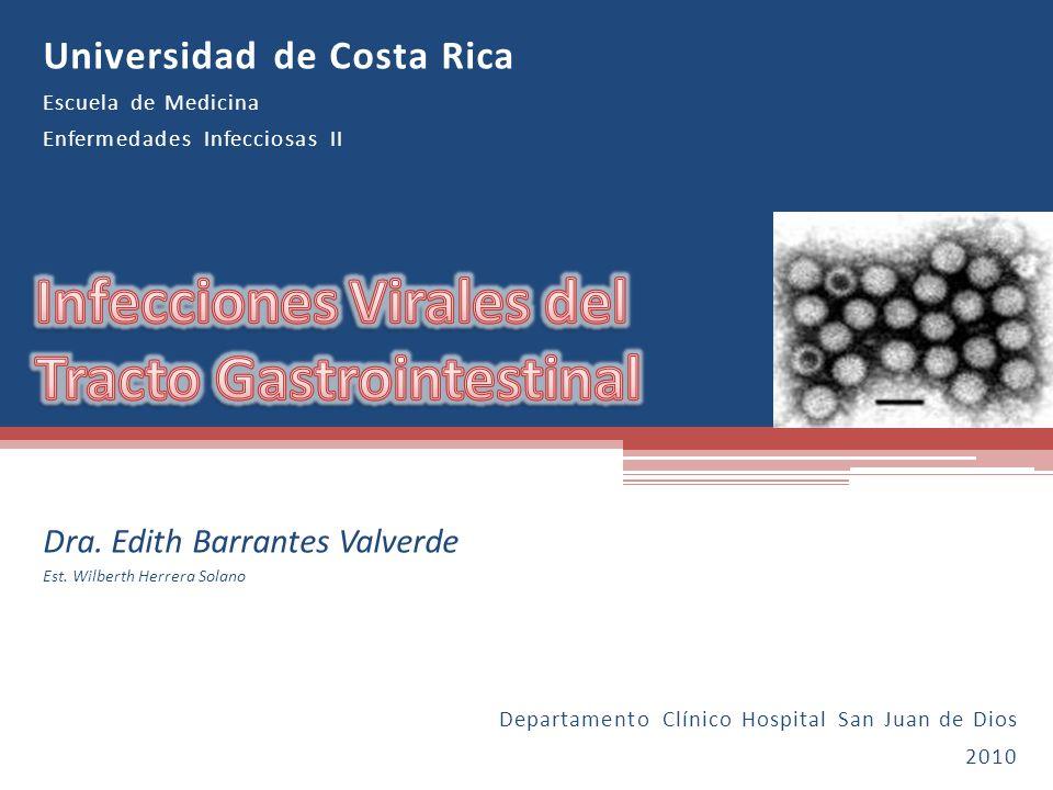 Infecciones Virales del Tracto Gastrointestinal