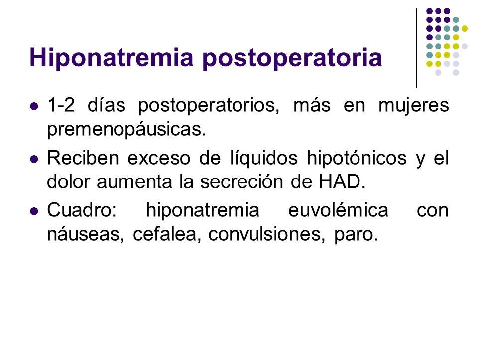 Hiponatremia postoperatoria