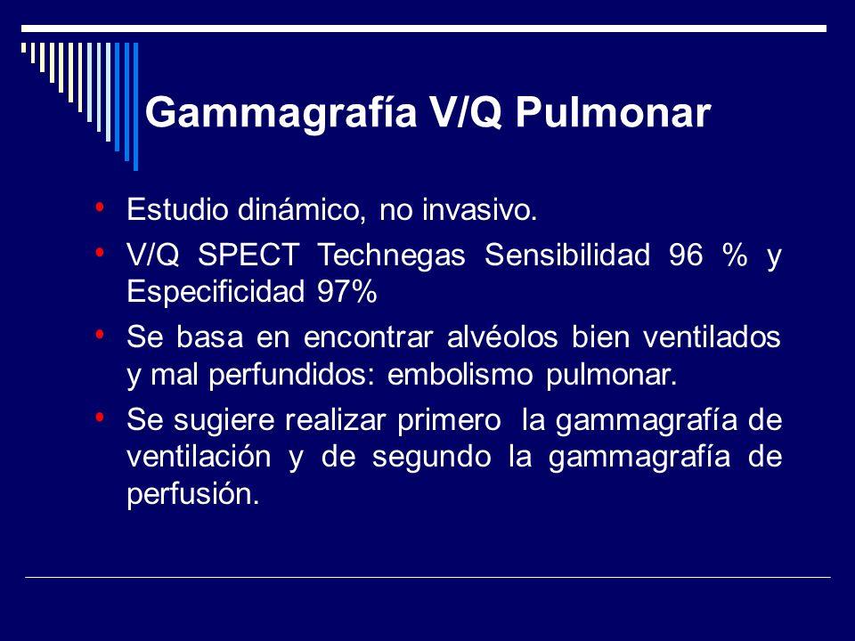 Gammagrafía V/Q Pulmonar