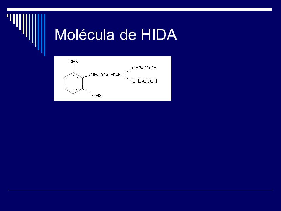 Molécula de HIDA