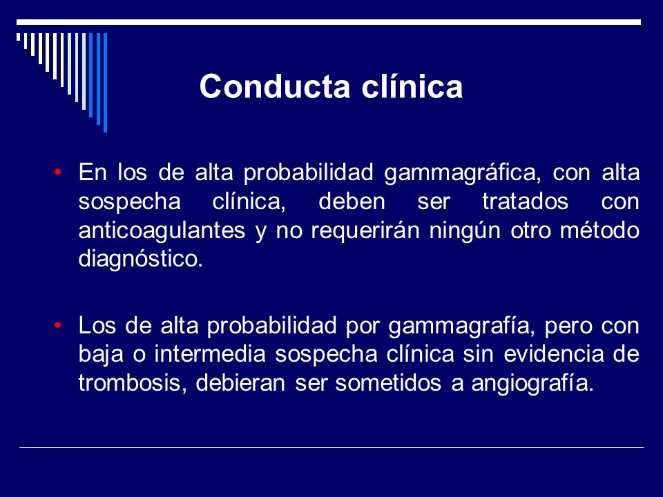 Conducta clínica