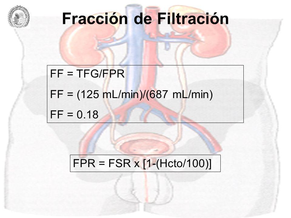 Fracción de Filtración