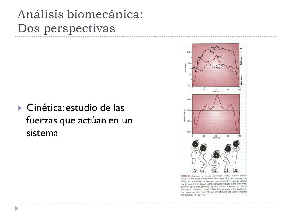 Análisis biomecánica: Dos perspectivas