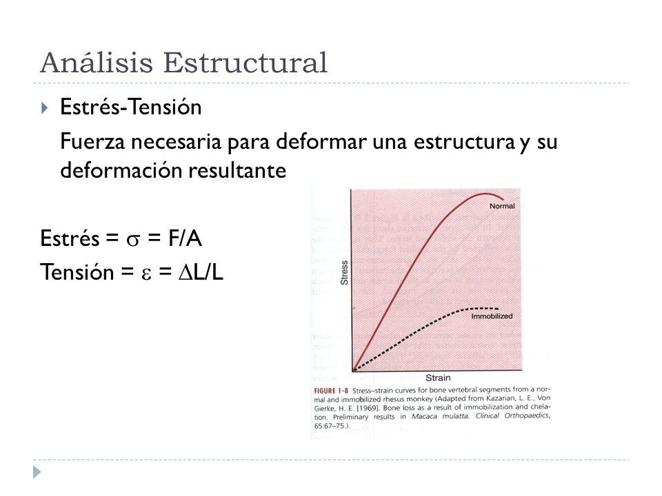 Análisis Estructural Estrés-Tensión