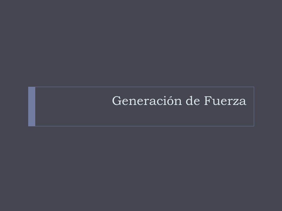 Generación de Fuerza