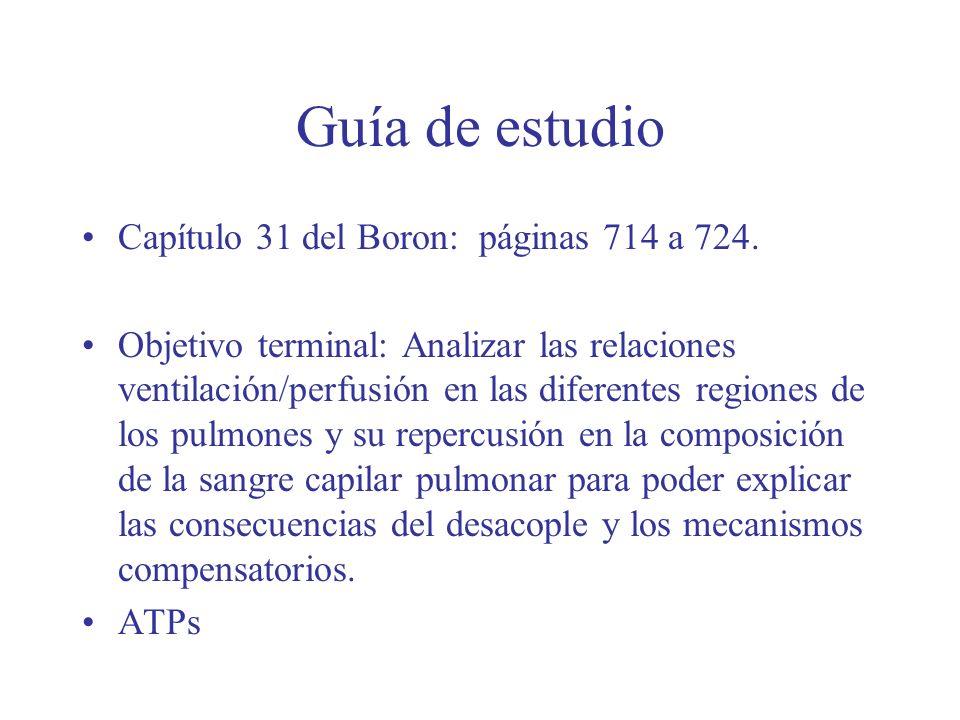 Guía de estudio Capítulo 31 del Boron: páginas 714 a 724.