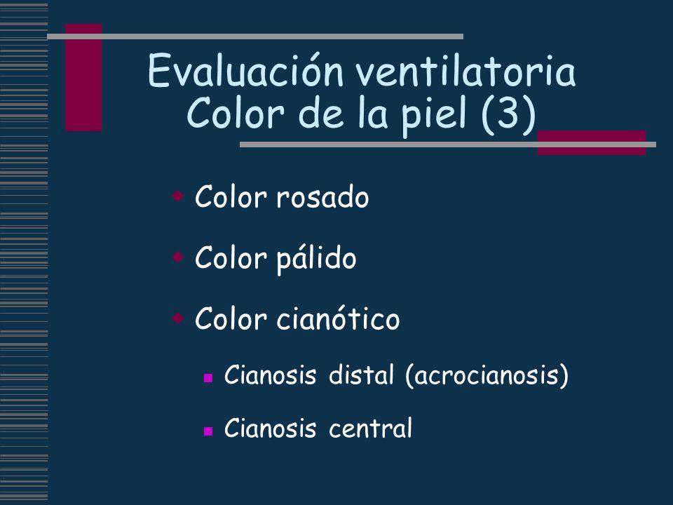 Evaluación ventilatoria Color de la piel (3)