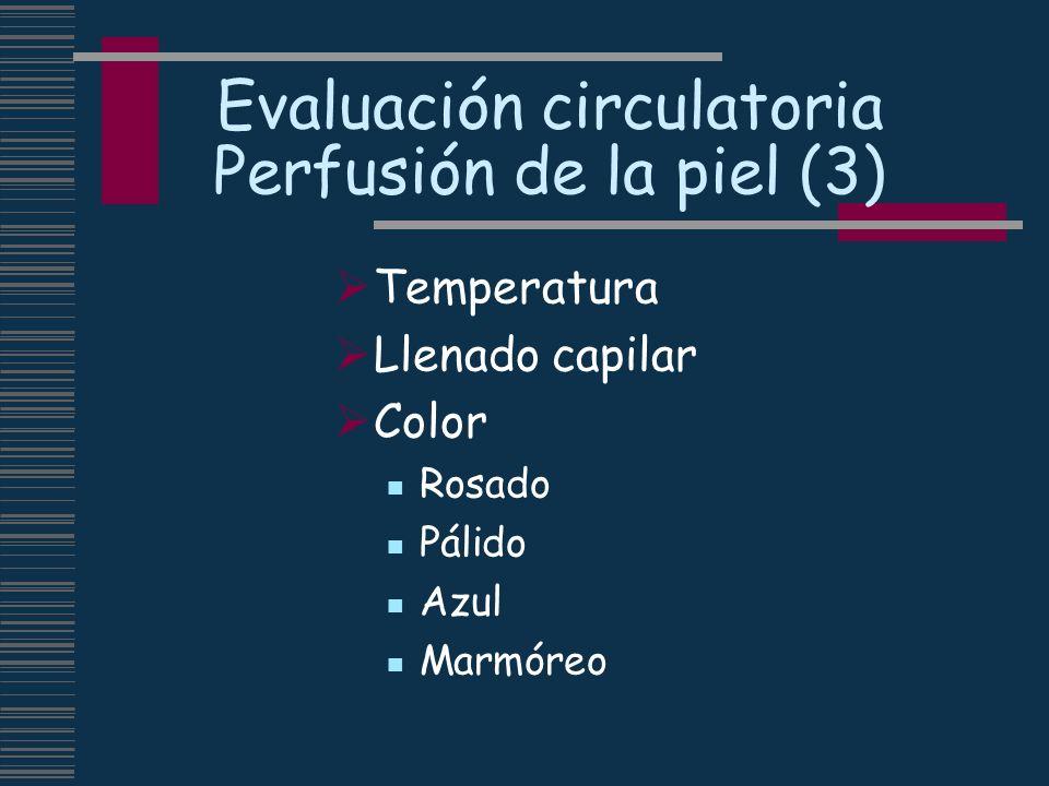 Evaluación circulatoria Perfusión de la piel (3)