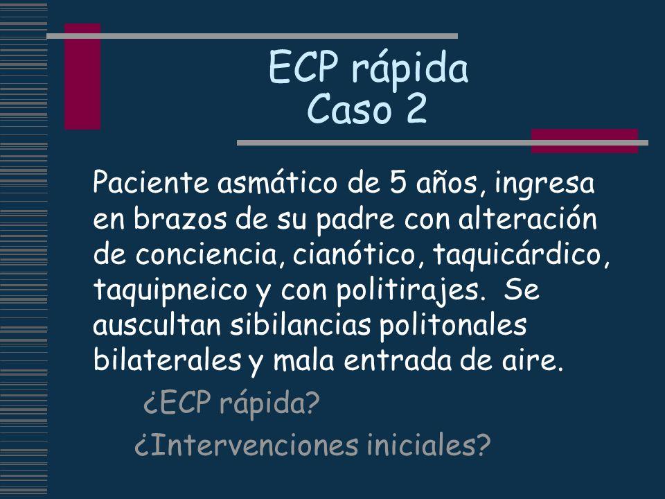 ECP rápida Caso 2