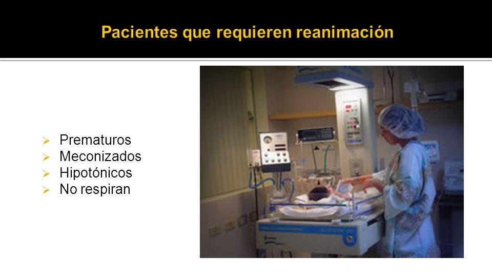 Pacientes que requieren reanimación